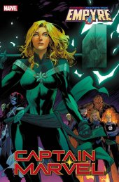Captain Marvel #18 Mora Empyre Variant