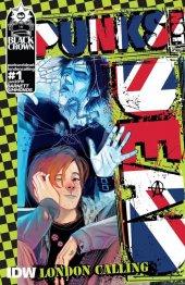 Punks Not Dead: London Calling #1 Original Cover