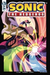 Sonic the Hedgehog #24 1:10 Incentive Variant