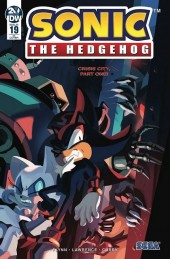 Sonic the Hedgehog #19 1:10 Incentive Variant