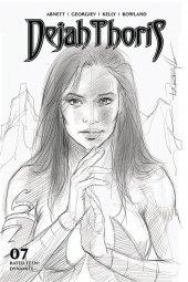 Dejah Thoris #7 1:10 Parrillo B&w Cover