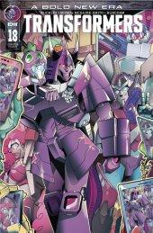 The Transformers #18 Wondercon exclusive