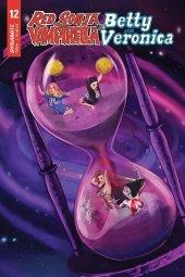 Red Sonja & Vampirella Meet Betty & Veronica #12 Original Cover