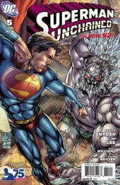 Superman Unchained #5 75th Anniversary Doomsday Cover