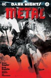 Dark Nights: Metal #1 Forbidden Planet / Jetpack Sienkiewicz Blood Red Variant