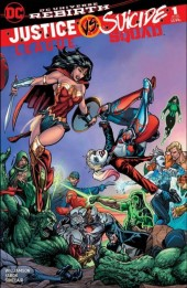 Justice League vs. Suicide Squad #1 Bart Sears Battle Variant