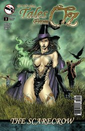 Grimm Fairy Tales Presents Tales From Oz #3 Original Cover