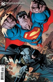 Batman / Superman #8 Card Stock Variant Edition