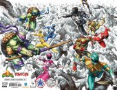 Mighty Morphin Power Rangers / Teenage Mutant Ninja Turtles #1 ALAN QUAH & KAEL NGU 5 STAR EXCLUSIVE VIRGIN VARIANT