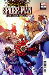 War of the Realms: Spider-Man and the League of Realms #1 Hamner Variant