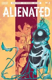 Alienated #2 Original Cover