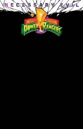 Mighty Morphin Power Rangers #50 OASAS Comics Exclusive Black Blank Variant