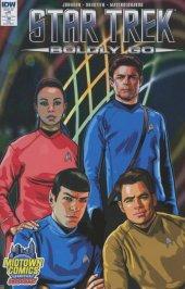 Star Trek: Boldly Go #1 Midtown Comics Exclusive Variant