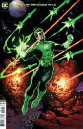 The Green Lantern Season Two #5 Card Stock Variant Edition