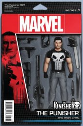 The Punisher #1 Christopher Action Figure Variant