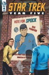 Star Trek: Year Five #4 Original Cover