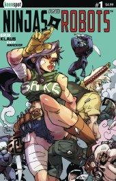 Ninjas & Robots #1 Cover C Piyotycho
