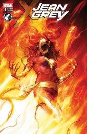 Jean Grey #1 Francesco Mattina Dark Phoenix Variant