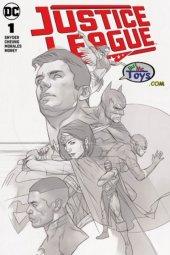 Justice League #1 Ben Oliver Variant B