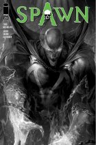 Spawn #284 Cover B B&W Mattina