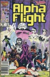 Alpha Flight #33 Canadian Price Edition