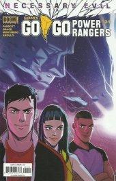 Go Go Power Rangers #31 Original Cover