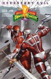 Mighty Morphin Power Rangers #50 Torpedo Comics Exclusive Red Ranger Variant