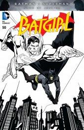 Batgirl #50 Black & White Variant
