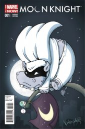 Moon Knight #1 Katie Cook Animal Variant