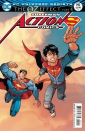 Lenticular Cover Edition Action Comics #990