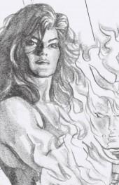 Immortal She-Hulk #1 1:100 Alex Ross Timeless Virgin Sketch Variant