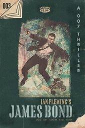 James Bond #3 1:25 Vintage Paperback Cover