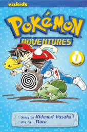 pokemon adventures vol. 1: red and blue