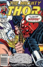 The Mighty Thor #452 Newsstand Edition