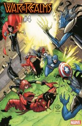 War of the Realms #4 Tan International Connecting Variant