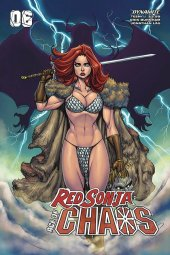 Red Sonja: Age of Chaos #6 Cover C Garza