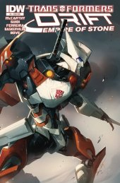 The Transformers: Drift - Empire of Stone #4 Subscription Variant