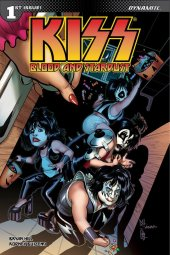 Kiss: Blood And Stardust #1 Cover F Sanapo Trick Treat