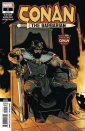 Conan the Barbarian #1 2nd Printing Asrar Variant
