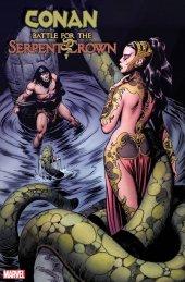 Conan: Battle for the Serpent Crown #1 1:100 Buscema Hidden Gem Variant