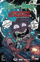 Rick and Morty vs. Dungeons & Dragons II: Painscape #1 Cover B Zub