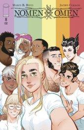 Nomen Omen #8 Cover C Pride Month Variant Camagni