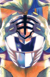 Mighty Morphin Power Rangers / Teenage Mutant Ninja Turtles #2 One Per Store Variant Cover