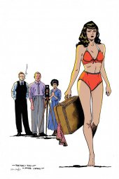 Bettie Page #3 Peeples Homage Limited Virgin Cover