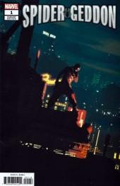 Spider-Geddon #1 Parel Spider-Man Noir Variant