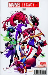 Marvel Legacy #1 Amy Reeder Woman of Marvel Variant