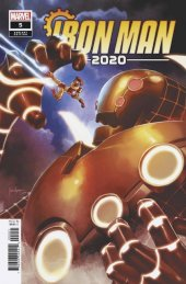 Iron Man 2020 #5 1:25 Mico Suayan Variant