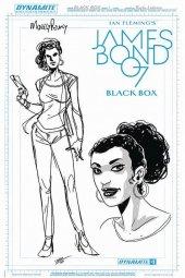 James Bond: Black Box #1 Moneypenny Artboard Variant