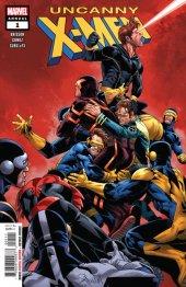 Uncanny X-Men Annual #1 Original Cover