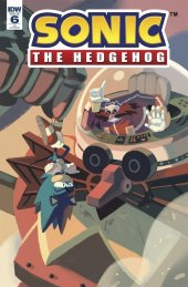 Sonic the Hedgehog #6 1:10 Incentive Variant